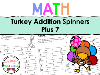 Turkey Addition Spinners Plus 7