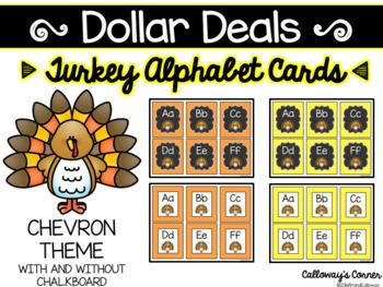 Turkey Alphabet Cards