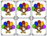 Turkey Alphabet Concentration