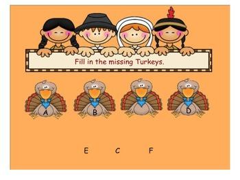 Turkey Alphabet Feast