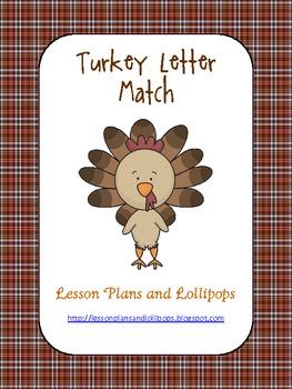 Turkey Alphabet Match