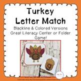 Turkey Alphabet Matching Cards