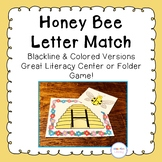Bee Hive Alphabet Matching Cards