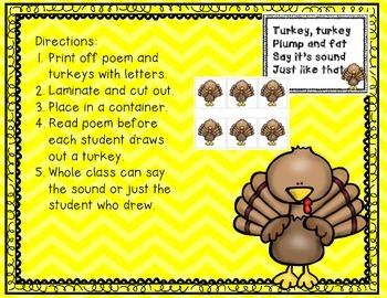 Turkey Alphabet Sounds
