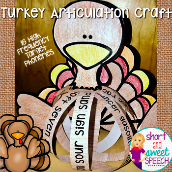 Turkey Articulation Craft