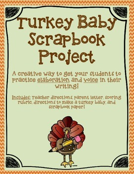 Turkey Baby Writing Project