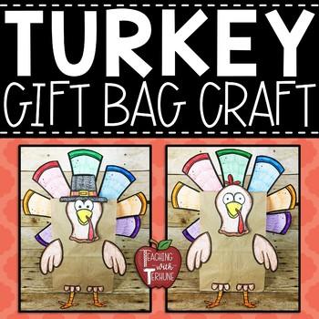 Turkey Gift Bag Topper