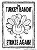 Turkey Bandit School Community Builder for Thanksgiving