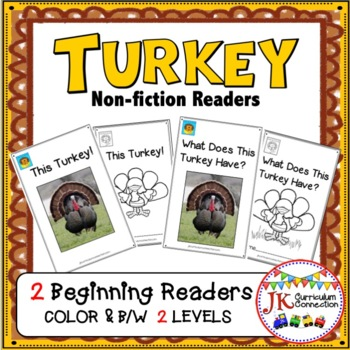 Turkey Nonfiction Beginning Readers for Guided Reading