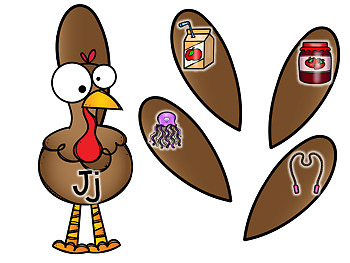 Turkey Beginning Sounds and Letters