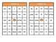 Turkey Bingo Bundle: Dolch Pre-Primer through Grade Three High Frequency Words