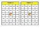 Turkey Bingo:  Dolch Primer High Frequency Words