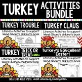 Turkey Book Bundle- Wendi Silvano's Turkey Books {Turkey Trouble}