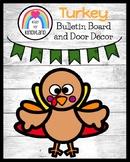 Turkey Bulletin Board, Door Decor: Turkey Craft, Thankful