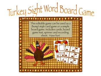 Turkey Bump! and Board Game