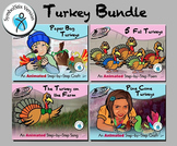 Turkey Bundle - Animated Step-by-Step Poems & Crafts SymbolStix