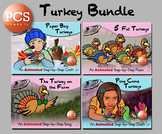 Turkey Bundle - Animated Step-by-Steps PCS Symbols