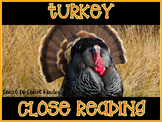 Turkey ~ Nonfiction CLOSE Reading