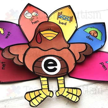 Thanksgiving CVC Sorting