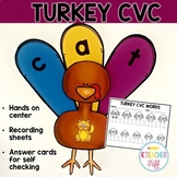 Turkey CVC Words Center