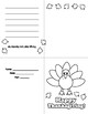 Turkey Cards for Thanksgiving EASY FUN CUTE 3 cards!