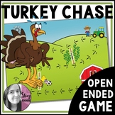 Turkey Chase Open-Ended Thanksgiving Game