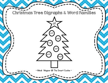 Turkey & Christmas Tree Digraphs & Word Families