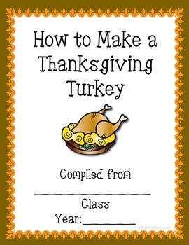 Thanksgiving Turkey Class Book Free