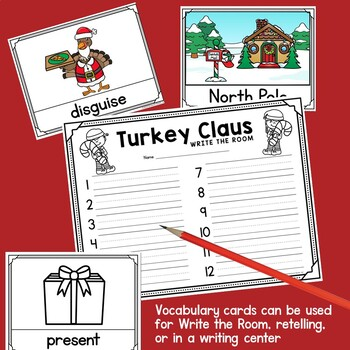 Turkey Claus Printable Activities