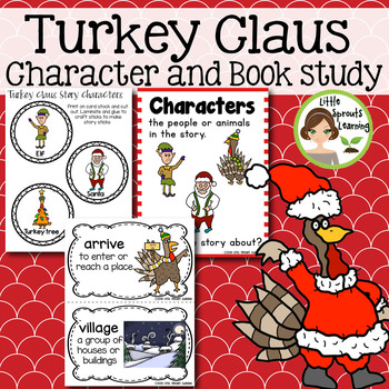 Turkey Claus Activities and Book Study