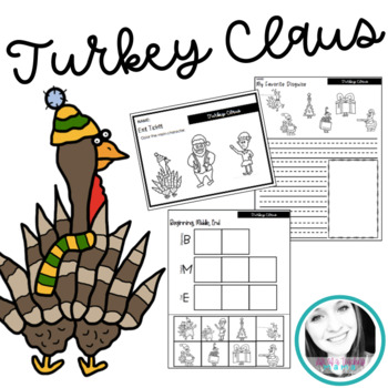 Turkey Claus | Book Activities