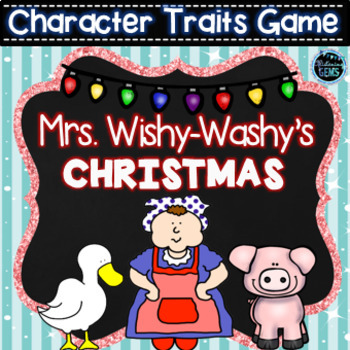 Mrs. Wishy-Washy's Christmas - Character Traits Bundle