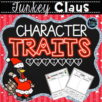 Turkey Claus Character Traits Bundle