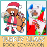 Turkey Claus Christmas Speech Therapy Book Companion