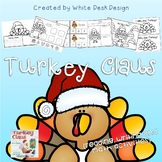 Turkey Claus Literacy and Math Activities