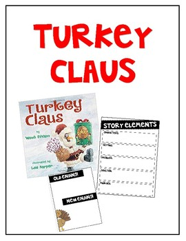 Turkey Claus / Read-Aloud Book Companion