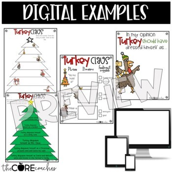 Turkey Claus: Interactive Read-Aloud Lesson Plans and Activities