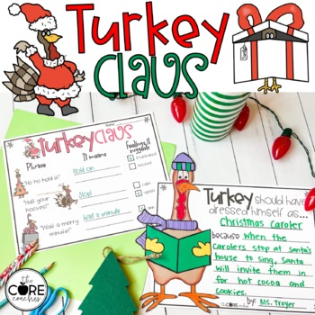 Turkey Claus Read-Aloud Activity