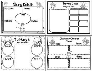 Turkey Claus (Story Companion with nonfiction activities included)