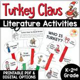 Turkey Claus Activities: Retell, Writing, Mini-book