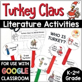 Turkey Claus Activities: Retell, Writing, Mini-book