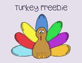 Turkey Clip Art Freebie