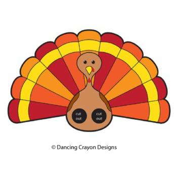 Turkey Clip Art and Turkey Finger Puppet