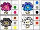 Turkey Clip Color Cards