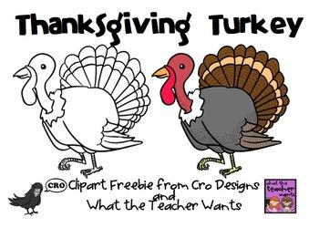Turkey Clipart Freebie
