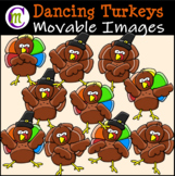 Turkey Clipart  || MOVABLE IMAGES CLIPART