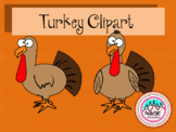 Turkey Clipart - Thanksgiving Turkey Clipart
