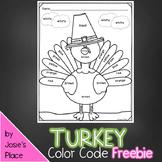 Turkey Color Code FREEBIE!