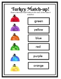 Turkey Color Matchup!