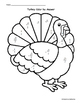 Thanksgiving Math: Turkey Color by Answer Exact Trig Values in Radians- Easy